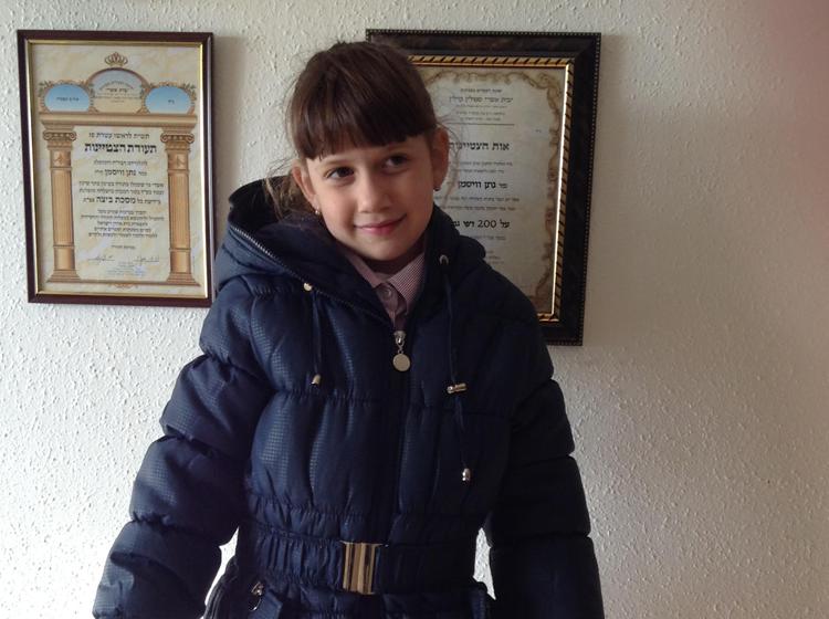 Un abrigo muy valioso – Informe de la coordinadora de Yad Eliezer en Tzfat
