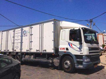 יד אליעזר קיבלה תרומה מיוחדת: משאית חדשה