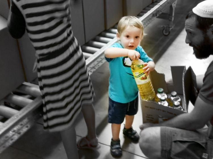 המתנדב הצעיר ביותר שלנו: צפו!